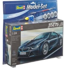 1:24 Scale BMW i8 Model Set - 67008
