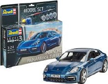 1:24 Scale Porsche Panamera Turbo Model Set - 67034