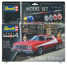 1:25 Scale '76 Ford Torino Model Set - 67038