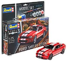1:25 Scale 2010 Ford Shelby GT500 Model Set - 67044