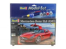 1:24 Scale Mercedes-Benz SLS AMG Model Set - 67100