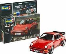 1:24 Scale Porsche 911 Turbo Model Set - 67179