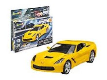 1:25 Scale 2014 Corvette Stingray Easy Click Model Set - 67449