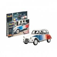 1:24 Scale Citroën 2CV Cocorico Model Kit - 67653