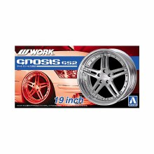 1:24 Scale 19 Inch Work Gnosis GS2 Wheels & Tyres Set - A005244