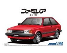 1:24 Scale Aoshima BD Familia XG '80 - A005589
