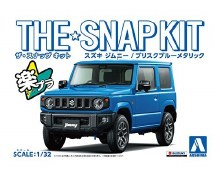 1:32 Scale Suzuki Jimny (Brisk Blue Metallic) Snap Kit - A005778