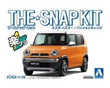 1:24 Scale Suzuki Hustler (Passion Orange) Snap Kit - A005832