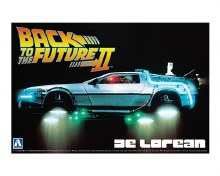 1:24 Back To The Future Delorean From Part II - 005917