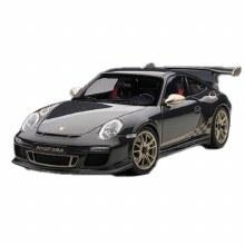 1:18 Scale Porsche 911 (997) GT3 (Grey Black w/ White Gold Metallic Stripes) - A78142