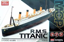 1:1000 Scale R.M.S. Titanic - ACA-14217