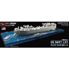 1:350 Scale US Navy LST Wave Base - HF094