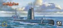1:350 Scale Guppy II Class USN Submarine - SE73513