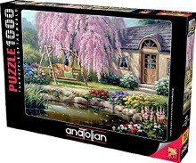 Cherry Blossom Cottage 1000pc - ANA1089
