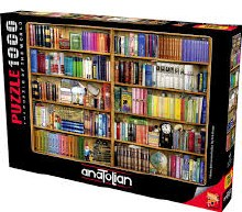 Bookshelves 1000pcs - ANA1093