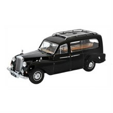 1:43 Scale Austin Princess Hearse Black - APH001