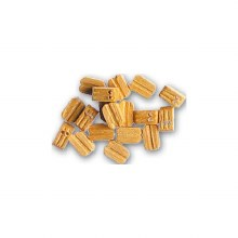 Double Natural Blocks 5mm - 8519