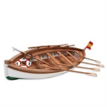 1:35 Scale J.S. Elcano Lifeboat Wooden Kit - 19019