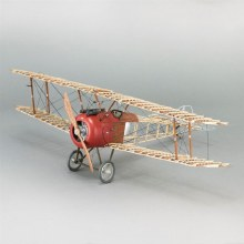 1:16 Scale WWI Biplane Fighter Sopwith Camel Wooden Kit - 20351