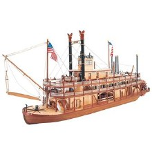 1:80 Scale King Of The Mississippi Steamboat - 20505