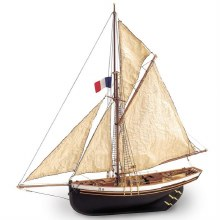 1:50 Scale Jolie Brise French Cutter Wooden Kit - 22180