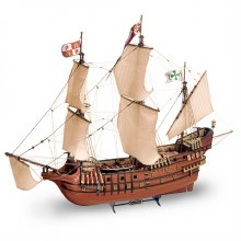 1:90 Scale San Franciso II Spanish Galleon Wooden Kit - 22452
