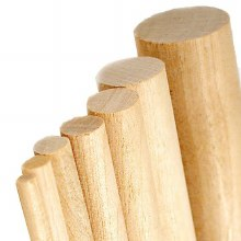 Basswood Dowel 10 x 1000mm