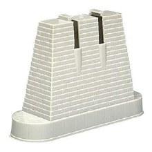"""HO Scale 3"""" Bridge Pier Set (4) - 0081"""