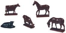 HO Scale Cows & Horses - 0778