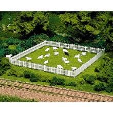 HO Scale Sheep - 0779