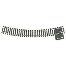 "HO Scale Code 100 18"" Radius Terminal Section - 0845"