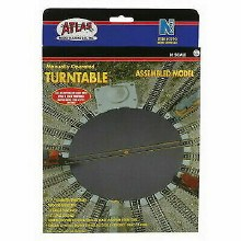 N Scale Manually Operated Turntable - 2790