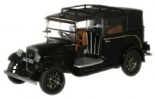 1:43 Scale Austin Low Loader Taxi Black - AT001