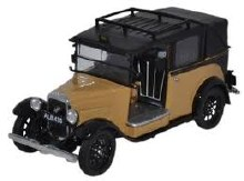 1:43 Scale Austin Low Loader Taxi Fawn - AT007