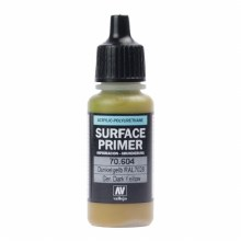 Acrylic Surface Primer German Dark Yellow 17ml - 70604