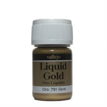 Alcohol Based Liquid Gold Metallic 35ml - 70791
