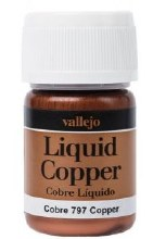 Alcohol Based Liquid Copper Metallic 35ml - 70797