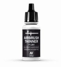 Acrylic Model Air Airbrush Thinner 17ml - 71261
