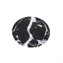 "Cake Board Black Marble - 10"" Round"