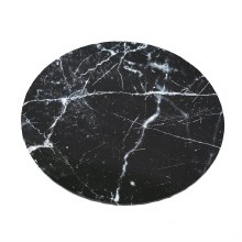 "Cake Board Black Marble - 14"" Round"