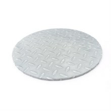 "Cake Board Checker Plate - 10"" Round"
