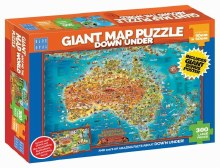 Giant Map Puzzle: Down Under 300pc - BL01880