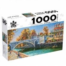 Riverbank Fisherman 1000pc - BMS7885