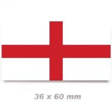 English St George's Cross Flag 36x70mm