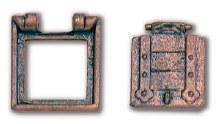Gun Port Hatch 12x13mm (2)