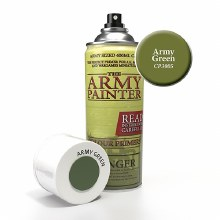 Acrylic Army Green Colour Primer Spray - CP3005