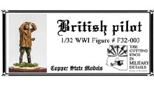 1:32 Scale British Pilot - F32-003