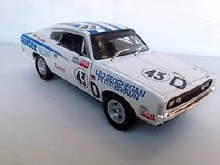 1:32 Scale E49 Valiant Charger #43 Racing Leo Geoghegan/Peter Brown - CT32817C-R43