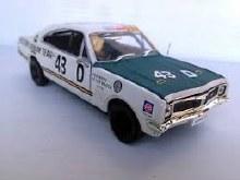 1:32 Scale HT Monaro GTS #43 Racing Des West/Peter Brock - CT32841W-R43