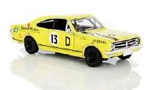 1:32 Scale Yellow HK Monaro GTS 327 #13 Racing - CT32841Y-R13